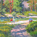 Fishing At Kennedy Meadows by Rhett Regina Owings