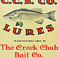 Fishing Bait Advertising Sign by Randy Steele