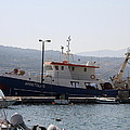 Fishing Boat Apostolos - Samos by Christiane Schulze Art And Photography