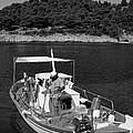Fishing Boat In Asos Village by George Atsametakis
