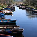Fishing Boat Row by Aidan Moran