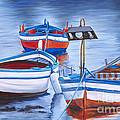 Fishing Boat Trio by Patty Vicknair