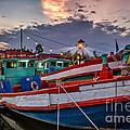 Fishing Boat V2 by Adrian Evans