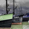 Fishing Boats by Adriana Zoon
