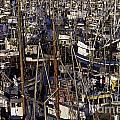 Fishing Boats At Fishermens Terminal by Jim Corwin