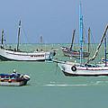 Fishing Boats - Cabo Blanco - Peru by Simon Northcott