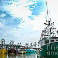 Fishing Boats by Cheryl Baxter