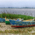 Fishing Boats by Hanny Heim
