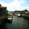 Fishing Boats In Fishtown by Michelle Calkins