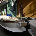 Fishing Boats In Manarola - Cinque Terre by Dany Lison