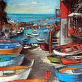 Fishing Boats In Riomaggiore