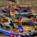 Fishing Boats by Svetlana Sewell