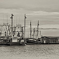 Fishing Boats - Wildwood New Jersey by Bill Cannon