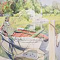 Fishing by Carl Larsson