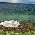 Fishing Cone In West Thumb Geyser Basin by Fred Stearns