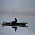 Fishing Day Fog by Sandi OReilly