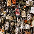 Fishing Gear Cape Neddick Maine by Thomas Schoeller