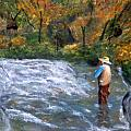 Fishing In The Fall by Gino Didio