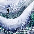 Fishing In The Rain by Heidi Creed