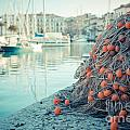 Fishing Net by Hannes Cmarits