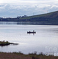 Fishing On Loch Leven by Phil Banks