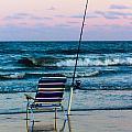 Fishing On The Beach by Gaurav Singh
