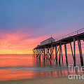 Fishing Pier Sunrise by Michael Ver Sprill