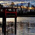 Fishing Pier Sunset  by Savannah Gibbs