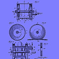 Fishing Reel Patent 1930 by Mountain Dreams