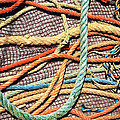 Fishing Ropes And Net by Carlos Caetano