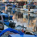 Fishing Ships In Grado by Ulrich Kunst And Bettina Scheidulin