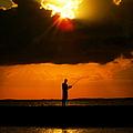 Fishing The Sun by Karen Wiles