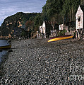 Fishing  Village by J L Woody Wooden
