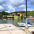 Fishing Village Puerto Rico by Marilyn Holkham