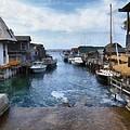 Fishtown Leland Michigan by Michelle Calkins