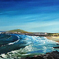 Fistral Bay Cornwall by Tony Hogan