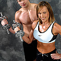 Fitness Couple 17-2 by Gary Gingrich Galleries