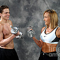 Fitness Couple 9 by Gary Gingrich Galleries