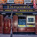 Fitzgeralds Pub - Dublin Ireland by Bill Cannon