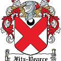 Fitzpearce Coat Of Arms Irish by Heraldry