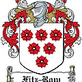 Fitzrow Coat Of Arms Waterford Ireland by Heraldry