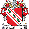 Fitzwilliam Coat Of Arms Dublin by Heraldry