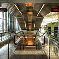 Fiumicino Airport Escalator by Yhun Suarez