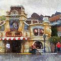 Five And Dime Disneyland Toontown Photo Art 02 by Thomas Woolworth