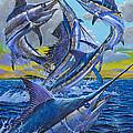 Five Billfish Off00136 by Carey Chen