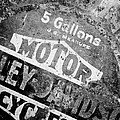Five Gallon Motorcycle Oil Can by Wilma  Birdwell