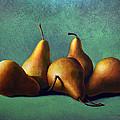 Five Ripe Pears by Frank Wilson
