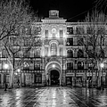 Five Till Seven In Black And White by Joan Carroll