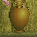 Five Vases One Flower  by David Dehner