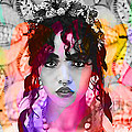 Fka Twigs Painting by Marvin Blaine